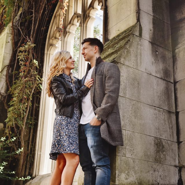 engagement shoot london st pauls
