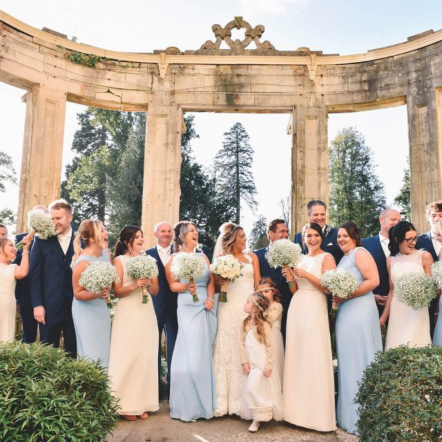 orchardleigh house wedding party luxury
