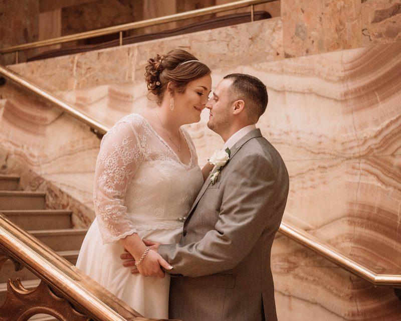 bromley wedding couple