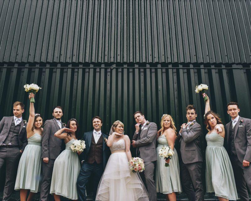 Chris and Tythe Barn wedding