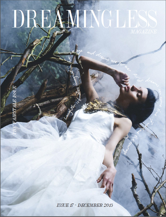 dreaming less wedding magazine