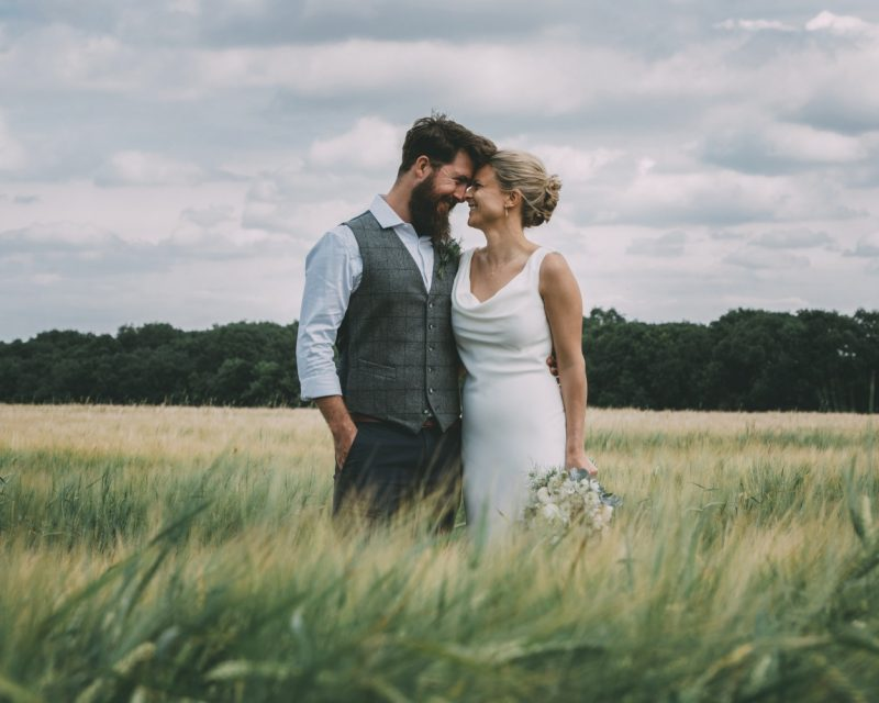 Hertfordshire farm wedding photography