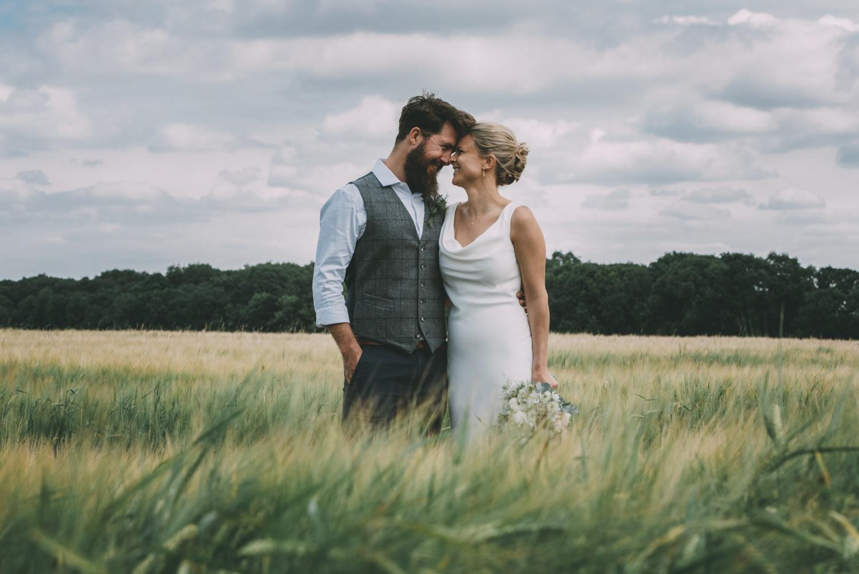 Hertfordshire farm wedding photography