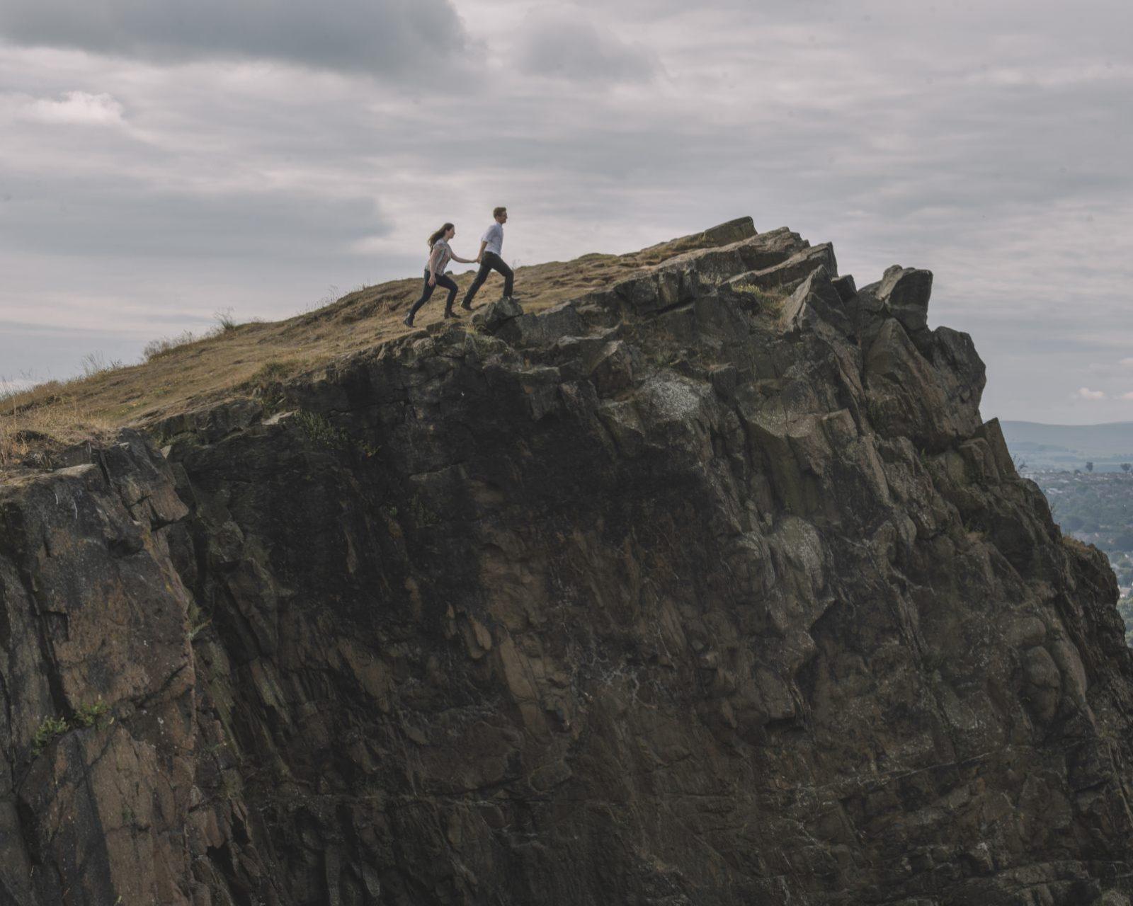 scotland engagement shoot