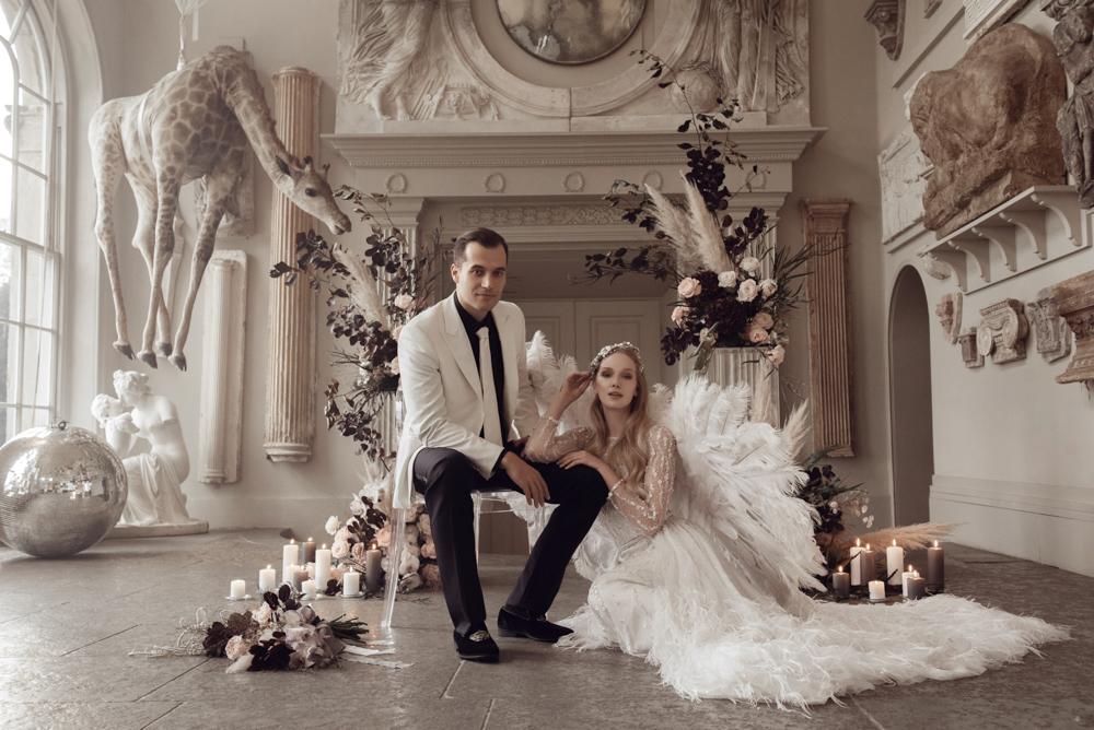 aynhoe park luxury wedding photographer