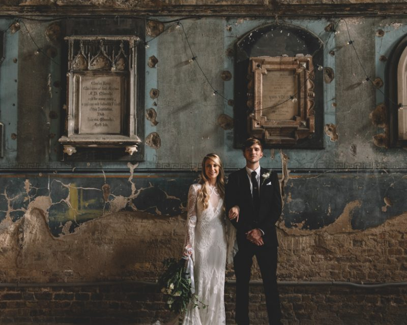 asylum chapel creative wedding ideas