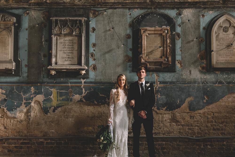 asylum chapel creative wedding ideas